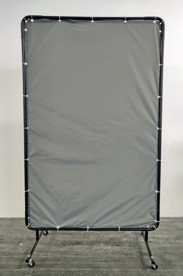 Rolling RFID Isolation Screen