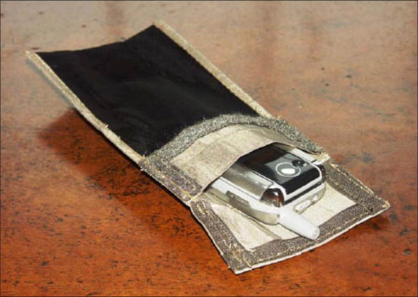 Mobile phone isolation pouch